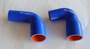 5301-1303000-10*Комплект патрубков силиконовый для ЗИЛ (2 шт)
